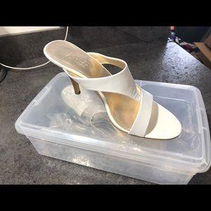 Brand new white Franco Sarto(designer) sandal